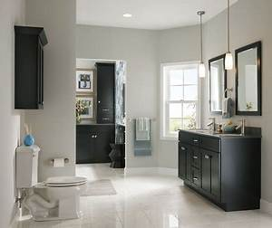 maple bathroom in onyx kraftmaid With what kind of paint to use on kitchen cabinets for replacement registration sticker