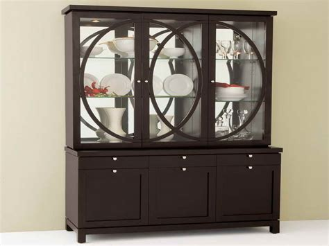 how to decorate a china cabinet furniture sweet modern china cabinet design modern china