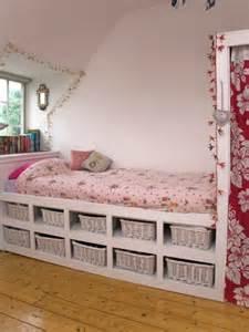 Bedroom with Storage Under Bed