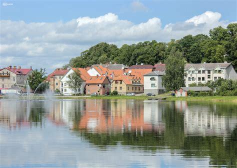 Talsu ezera promenāde (12 foto) - Latvijas skatkartes