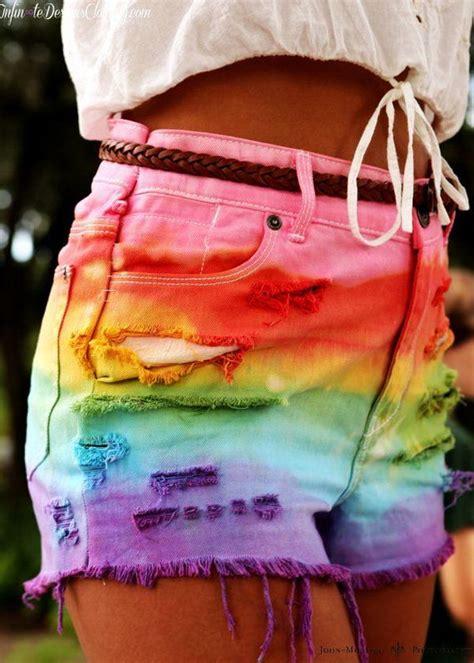 cool diy shorts ideas  girls hative