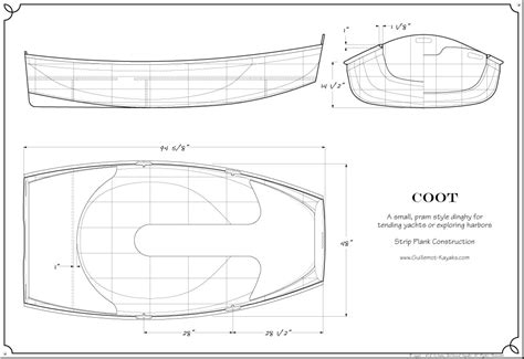 coot guillemot kayaks small wooden boat designs