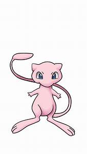 Learn how to draw Mew from Pokemon using few simple