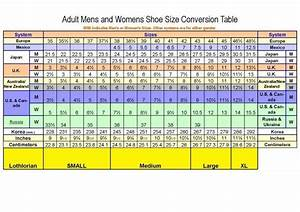 Sock Size Conversion Chart Sizing The Mohair Possum Store