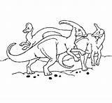 Herd Herbivores Coloring Coloringcrew Colorear Dinosaurs sketch template