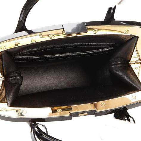 louis vuitton black patent leather monogram