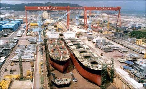 koreas big  shipyards move closer  achieving annual