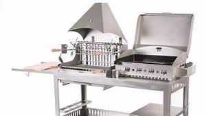 Barbecue Gaz Et Charbon : un barbecue xxl ~ Dailycaller-alerts.com Idées de Décoration