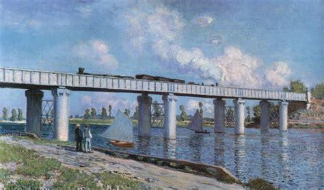 2 argenteuil le pont ferroviaire caillebotte les ponts d argenteuil monet artifexinopere