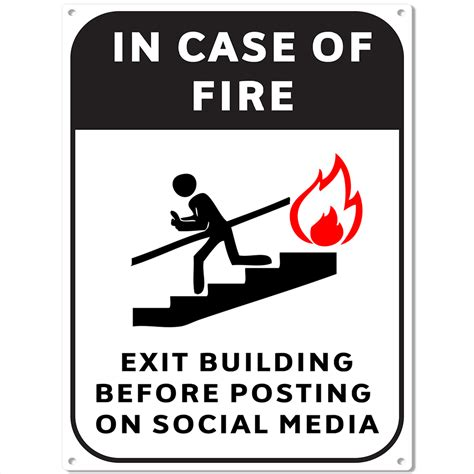 escape social media metal sign bar room wall decor 12 x 16 ebay