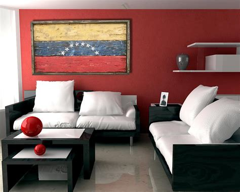 Handmade, Distressed Wooden Venezuela Flag, Vintage. Decorative Rain Gutters. Dining Room Buffet. Decorative Molding Kitchen Cabinets. 4 Seasons Room. Cheap Room Divider. Cowboys Decoration Room. Laundry Room Wooden Signs. Curtains For The Living Room