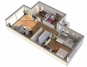 3d Planer Wohnung : plantas de casas em 3d 34 modelos e softwares ~ Indierocktalk.com Haus und Dekorationen