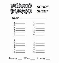 best 25 ideas about printable bunco score sheet template find