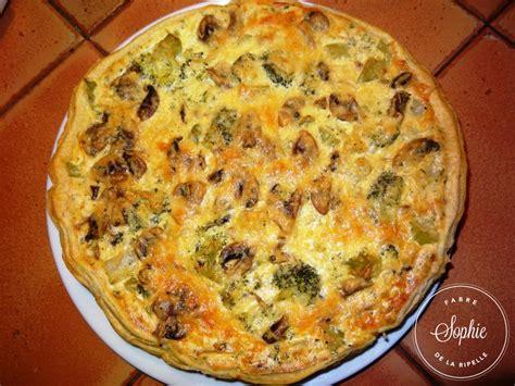 cuisiner ricotta quiche brocolis chignons ricotta la tendresse en cuisine