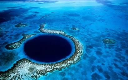 Ocean Wallpapers Sea Belize Hole Depth Water