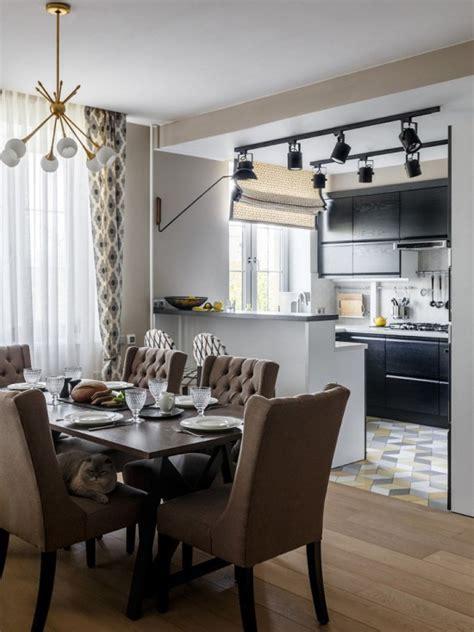 Design of kitchen area of 25 30 square meters   Decor