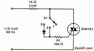 three position static switch power supply circuit With photocellchopper powersupplycircuit circuit diagram seekic