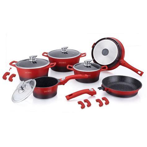 royalty   piece ceramic coating cookware set grabitall
