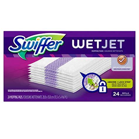 swiffer wetjet hardwood floor wet jet spray mop pad