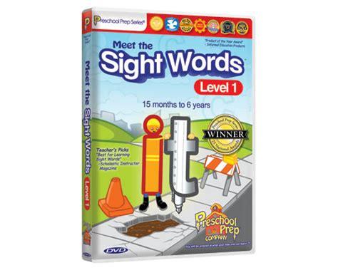 meet the sight words 1 preschool prep company 762   sightwords1 dvd large 01