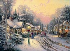 Village Christmas The Thomas Kinkade Company