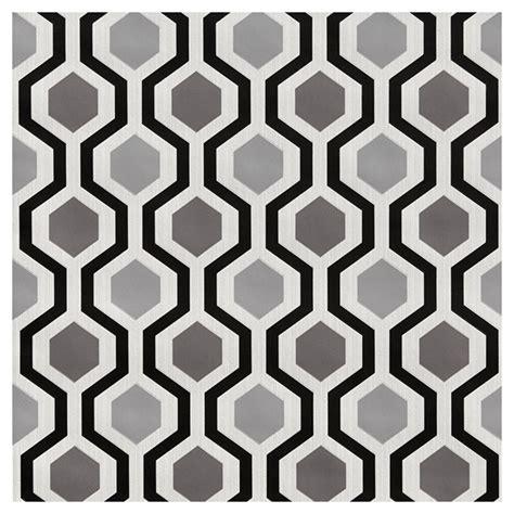 papier peint  formes geometriques    noir