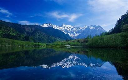 Mountains Water Trees Nature Clouds Lakes Landscapes