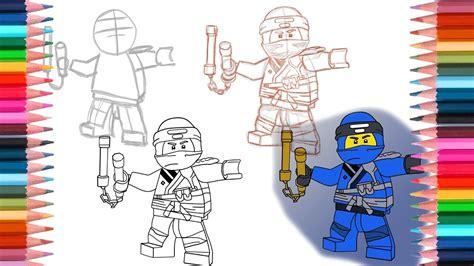 draw jay  lego ninjago sons  garmadon youtube