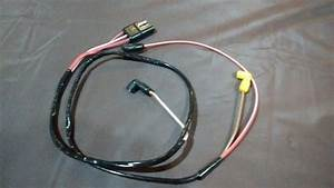 71 Ford Mustang Engine Gauge Feed Wiring Harness 351 1971