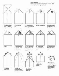 Free Folding Diagram  Bull Money Origami Instructions