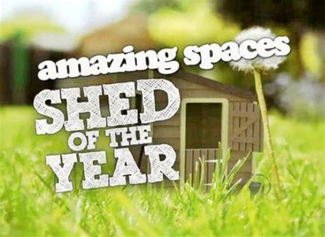 amazing spaces shed   year tv show air  track