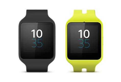 top android smart watches sony announces its android wear powered smartwatch 3