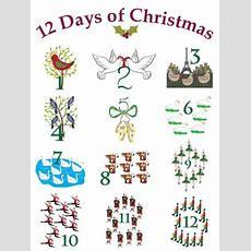 12 Days Of Christmas Graphics Lovetoknow