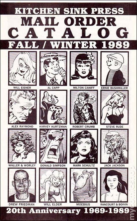 Kitchen Sink 1989 by Kitchen Sink Press Mail Order Catalog Comic Books
