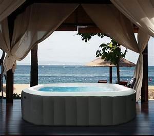 PoolPartyApp: M Spa Model B-90 Apline Inflatable Hot Tub