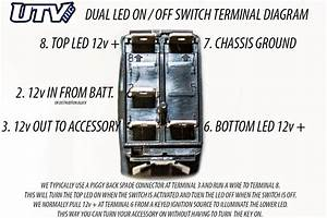 Utv Inc Carling Back Lit Led Switches  U0026 Diagrams