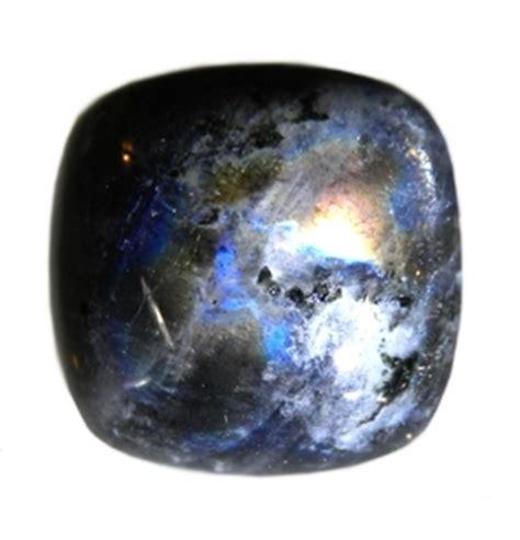 black moonstone unusual color india
