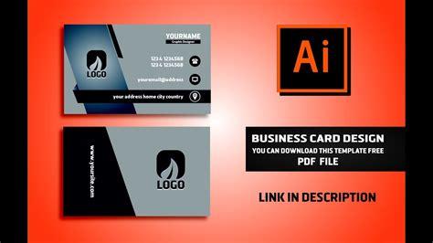 business card design vector file