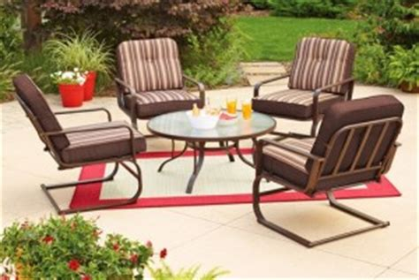 mainstays patio furniture replacement cushions mainstays lawson ridge cushions walmart replacement cushions