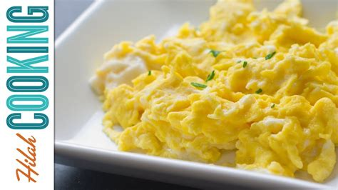what can you make with eggs how to make scrambled eggs perfect scrambled eggs recipe hilah cooking ep 34 youtube