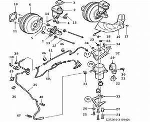 Footbrake System  Master Cylinder  Vacuum Brake Booster 6