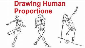 Easy Human Figure Drawing For Kids - Great Drawing