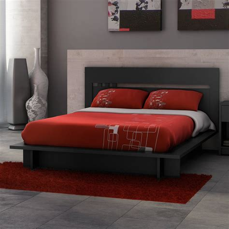 Post Category Red And Black Bedroom Set Interallecom