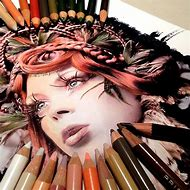 Amazing Color Pencil Artwork Drawings