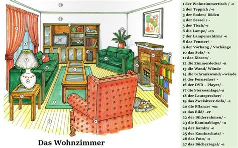 das wohnzimmer 127 best bilder mit vokabular daf images on learn german german language and german