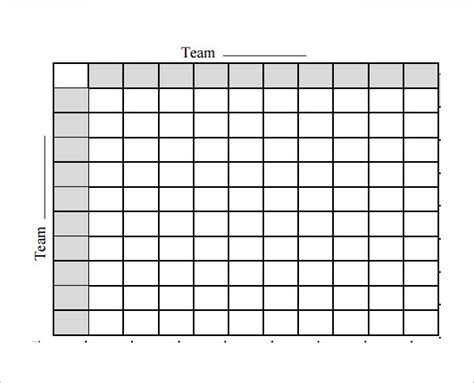 football squares template pdf blank football squares template invitation template