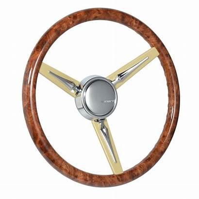 Con2r Steering Wheel Custom Series Classic Walnut