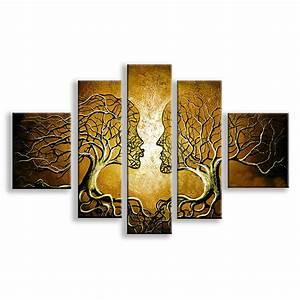 Tableau Triptyque Mural : tableaux modernes pas chers avec tableau triptyque moderne galerie et tableau triptyque pas cher ~ Teatrodelosmanantiales.com Idées de Décoration