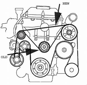 serpentine belt kinda got lucky saabcentral forums With saab 9 3 1999 serpentine belt