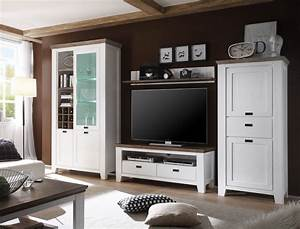 Waschtisch 50 X 40 : wohnwand barnelund akazie wei 4 teilig medienwand tv wand tv m bel wohnbereiche wohnzimmer ~ Bigdaddyawards.com Haus und Dekorationen